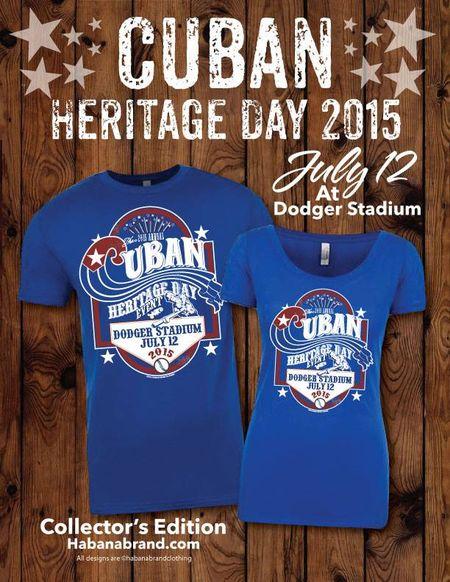 Cuban heritage day tshirts
