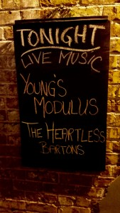 Great show, thank you all for coming out, and a big thank you to The Heartless Bartons! More to come!