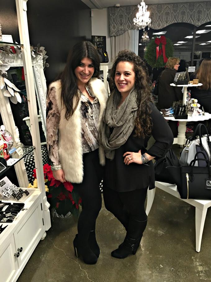 Marisa and I