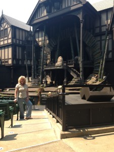Deb at the Oregon Shakespeare Festival!