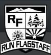 Run Flag logo