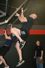 Flying pullups