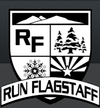 Run Flag logo