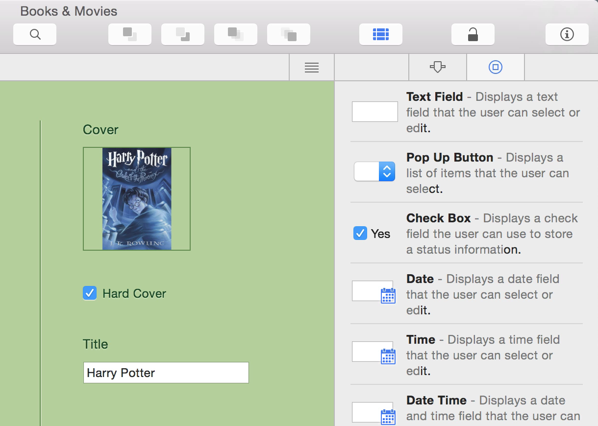 Records Team For Mac A Full Featured And Powerful Personal Database App The