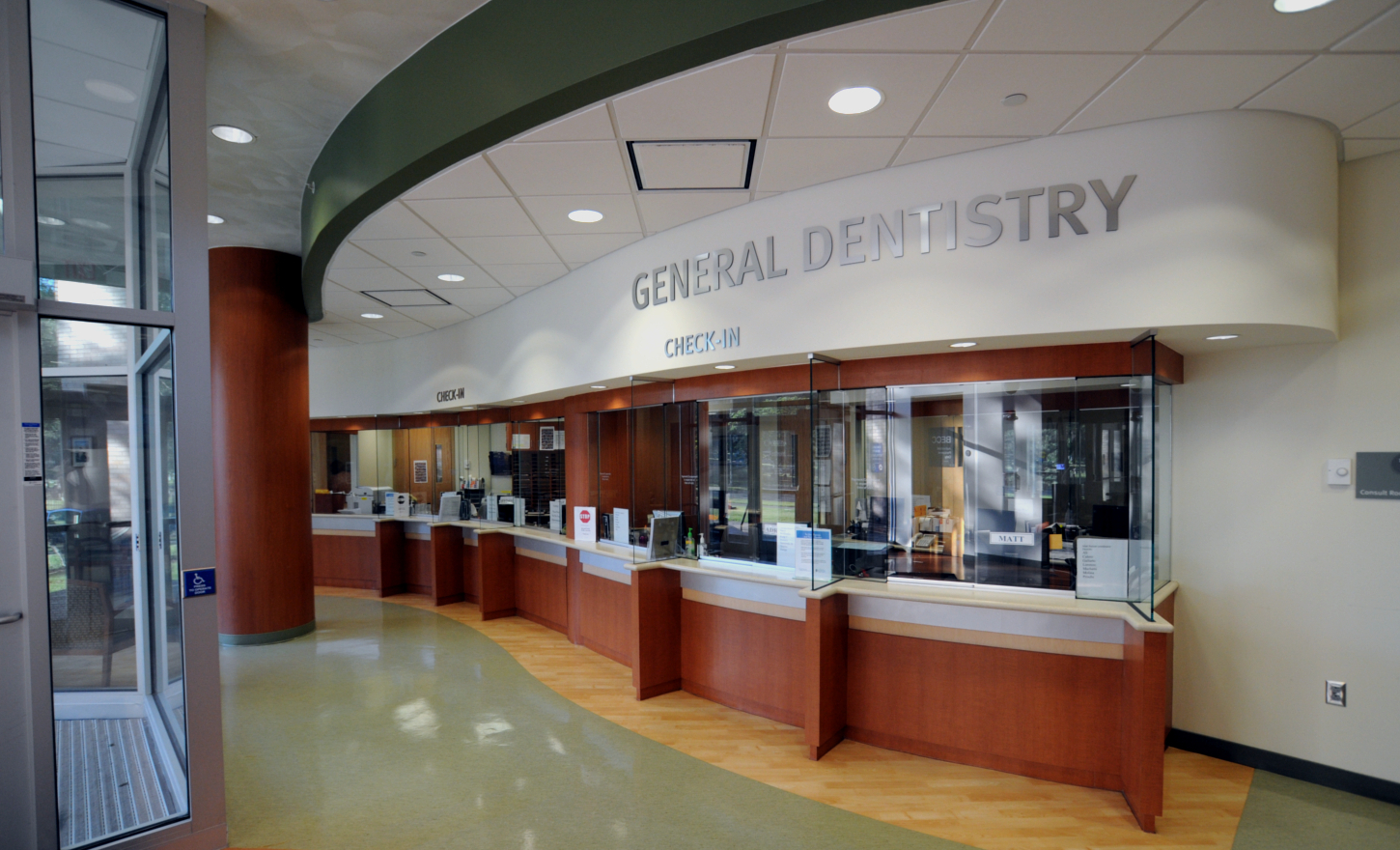 University of Rochester Medical Center Eastman Institute of Oral Health General Dentistry Renovation