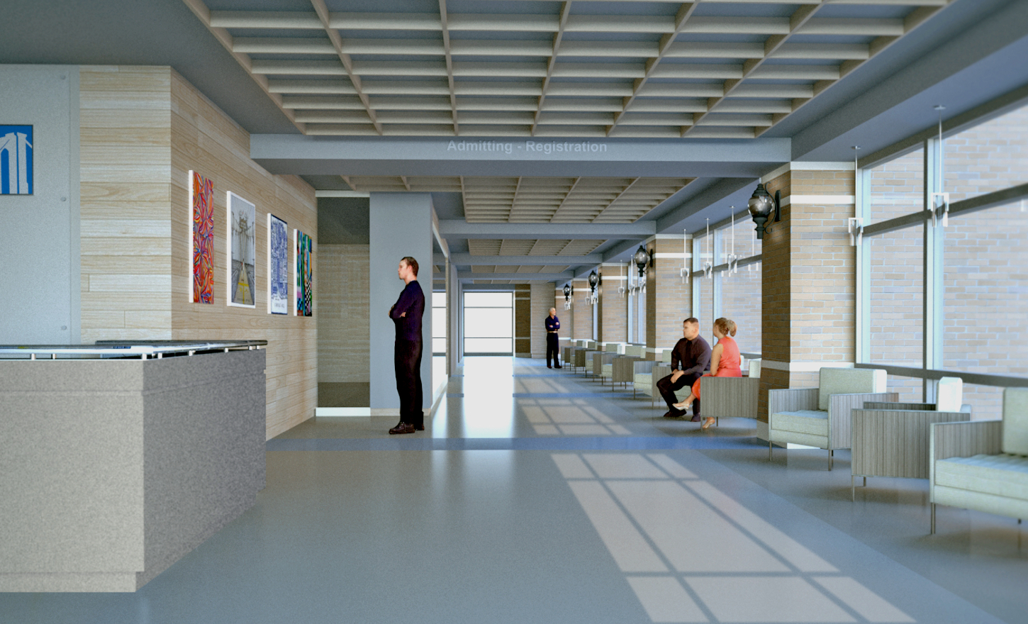 SUNY Downstate Medical Center at Long Island College Hospital Lobby Renovation