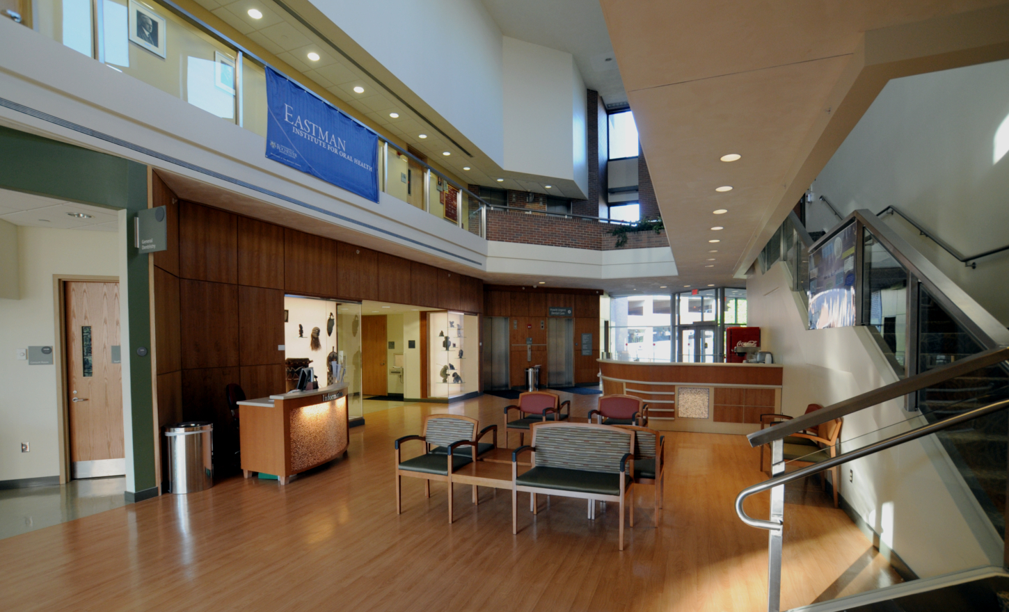 University of Rochester Medical Center Eastman Institute of Oral Health Atrium Renovation