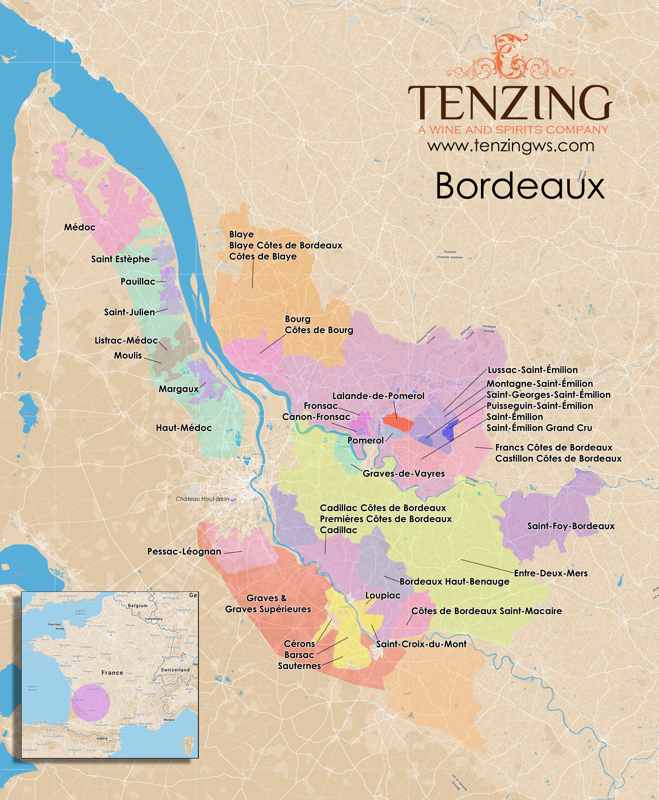 """bordeaux wine region essay The 1855 classification can guide you to some luxury bordeaux wines producers, and the 1855 classification bordeaux"""" yes, it is a wine region."""