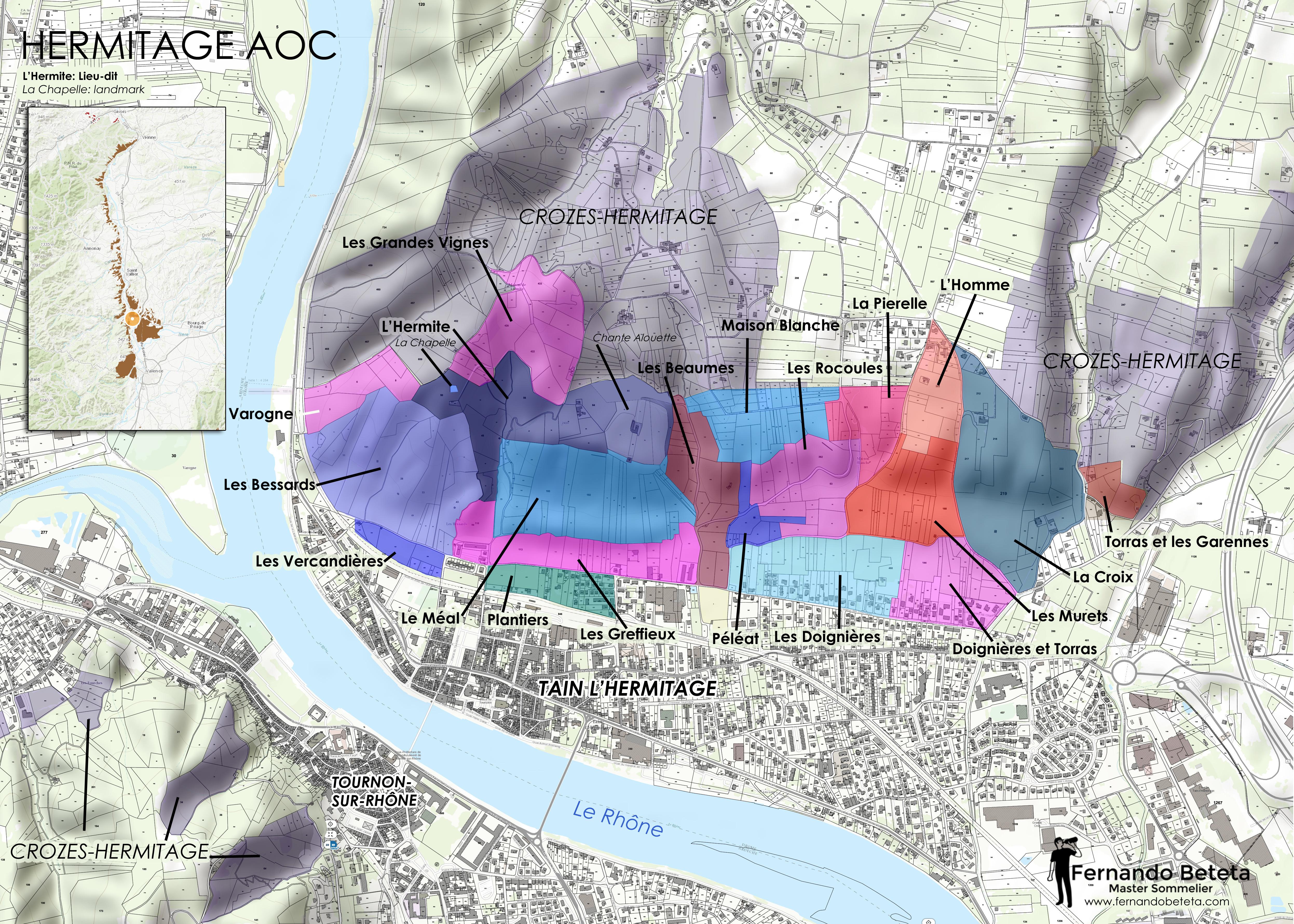 Wine Maps Fernando Beteta Ms
