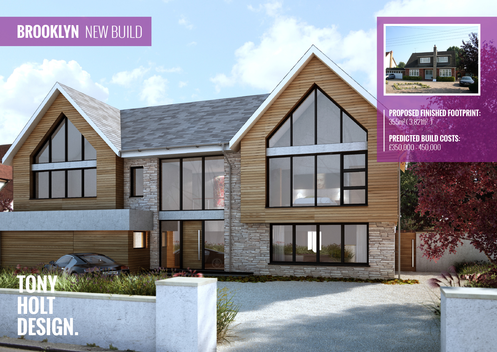 Brooklyn new build tony holt design for New build house plans