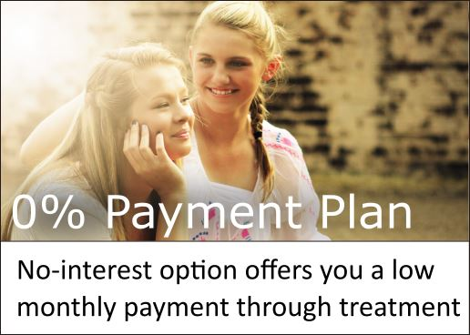 No-interest option offering even payments throughout your treatment.