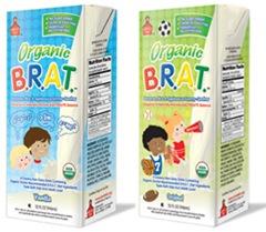BRAT Organic drinks
