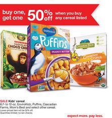 Target Cereal Deal 2-1-15