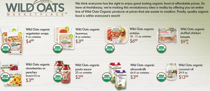 Wild Oats Organic