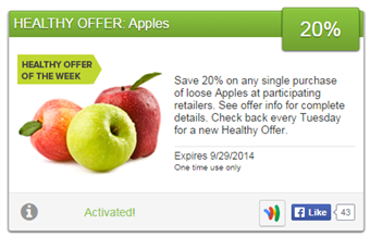 Healthy Offer - Apples