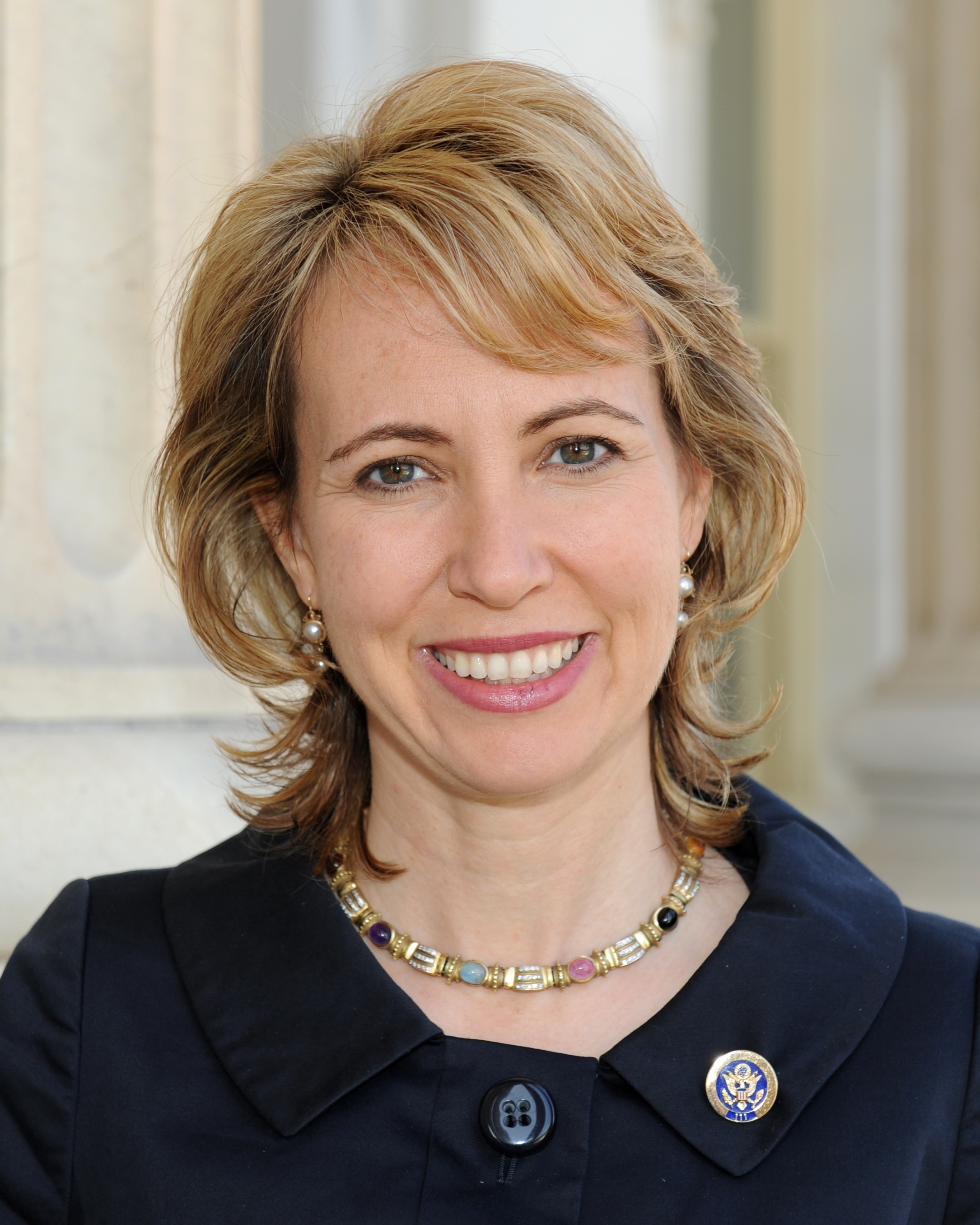 Click photo to download. Gabrielle Giffords.