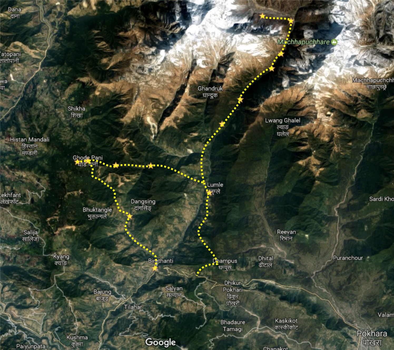 ABC Route Map