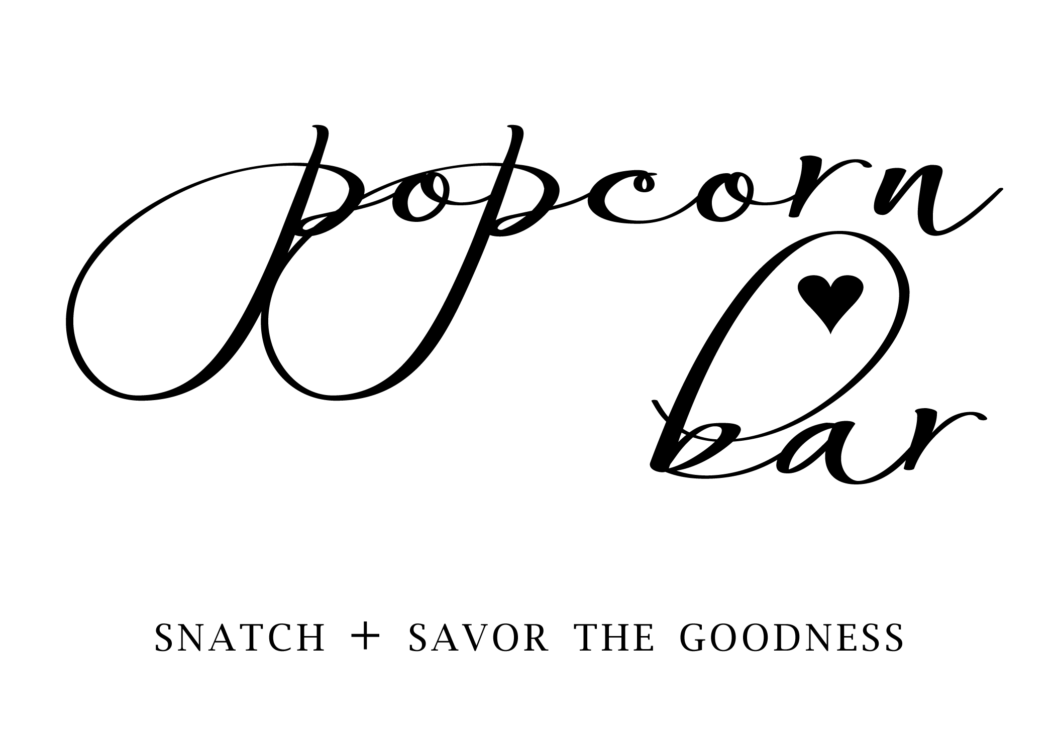 picture about Popcorn Sign Printable called How toward Preset Up a Uncomplicated + Basic Popcorn Bar