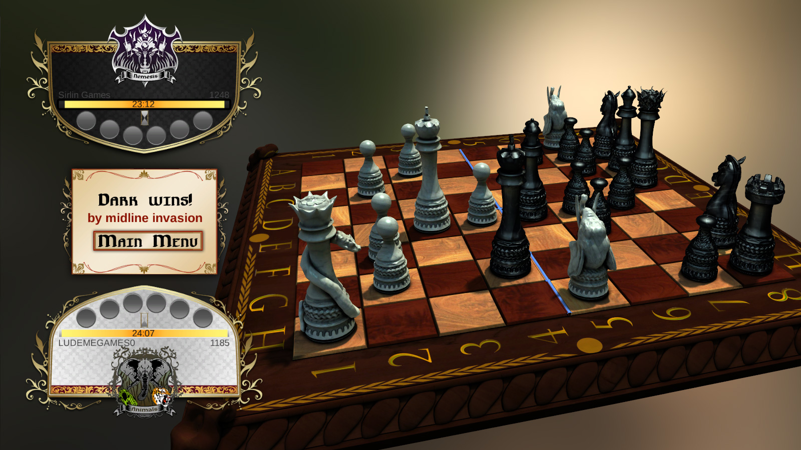 Lovechess age of egypt 18 chess game for people with iq over 18 - 4 3