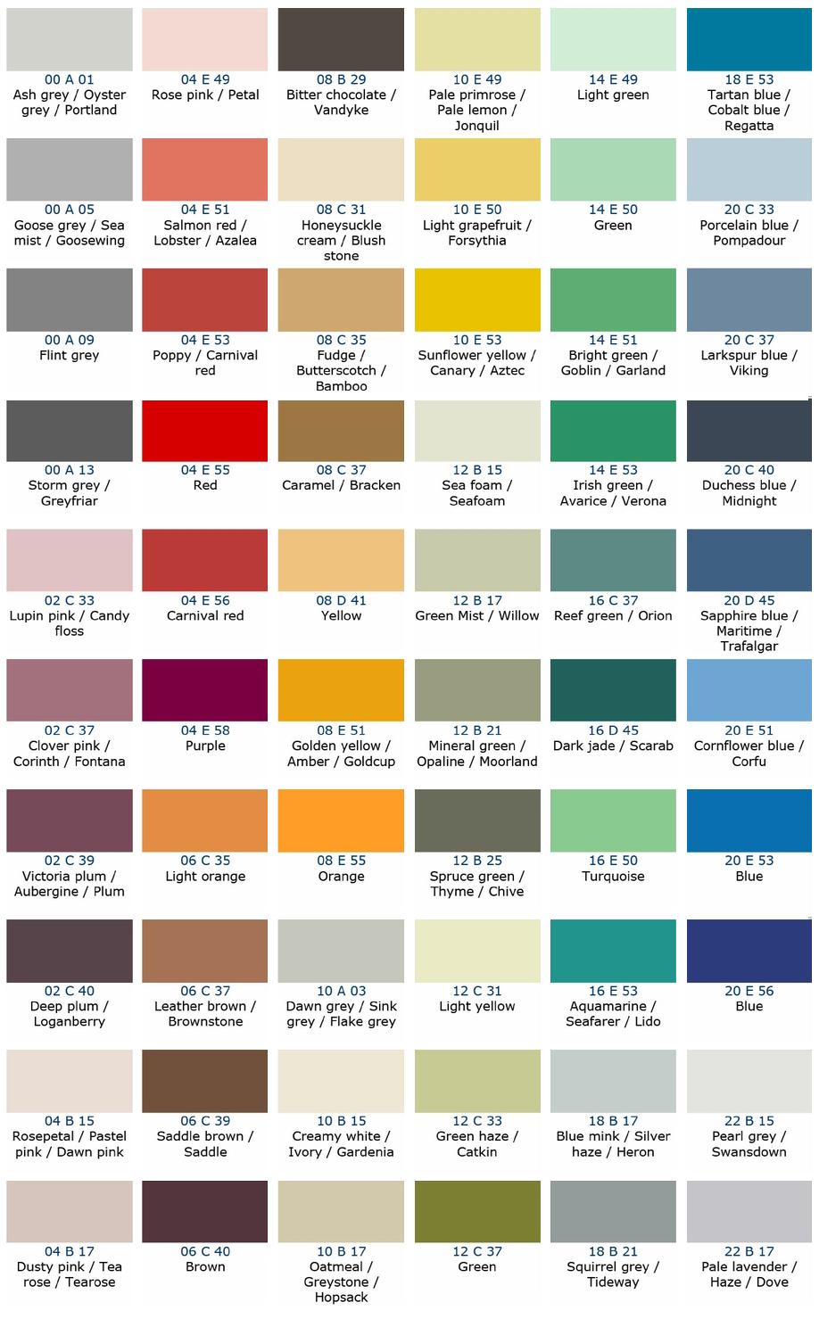 Colour Kote Ltd Bs 4800
