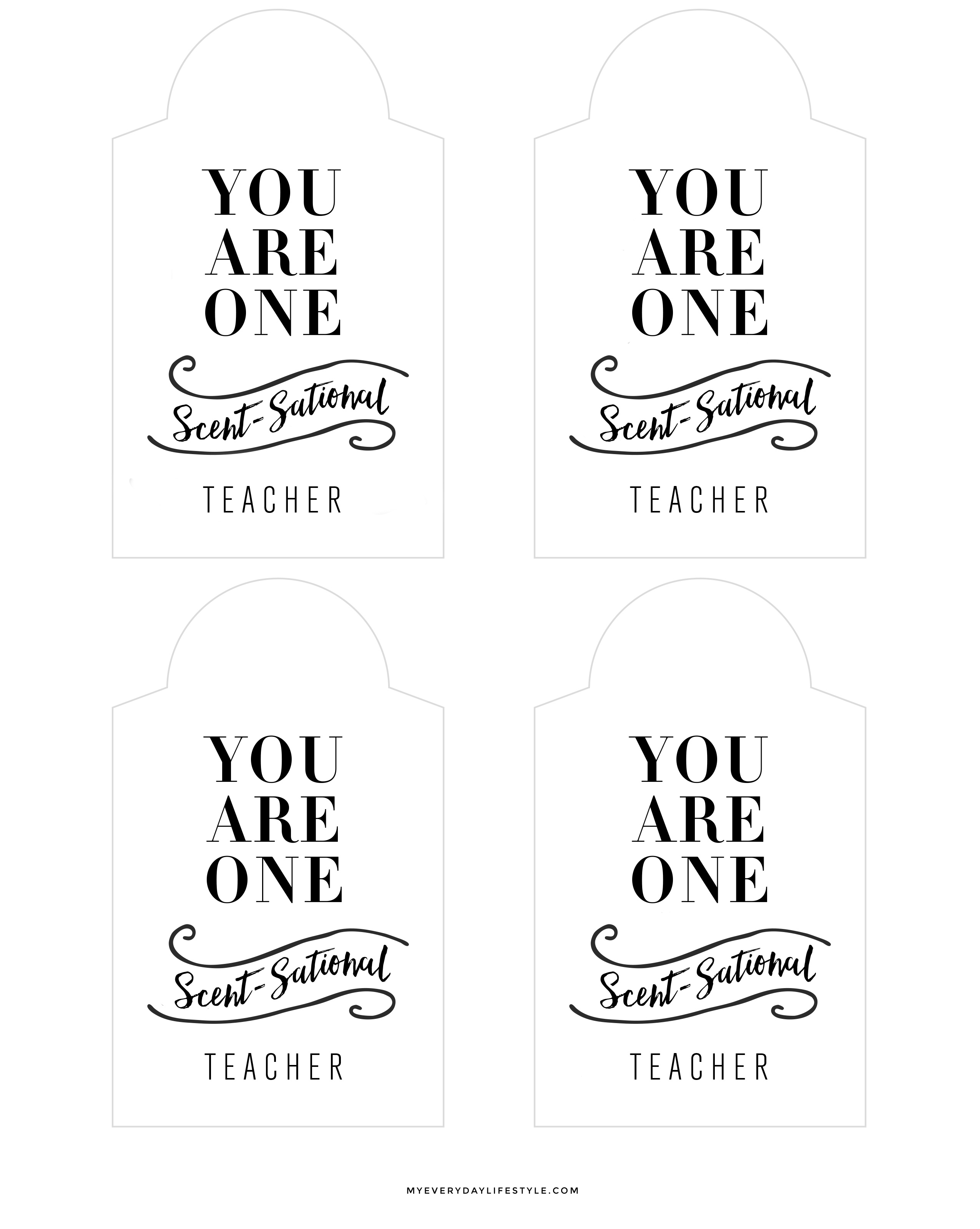 Teacher appreciation gift idea mel dallas lifestyle design i created these free gift tags negle Images