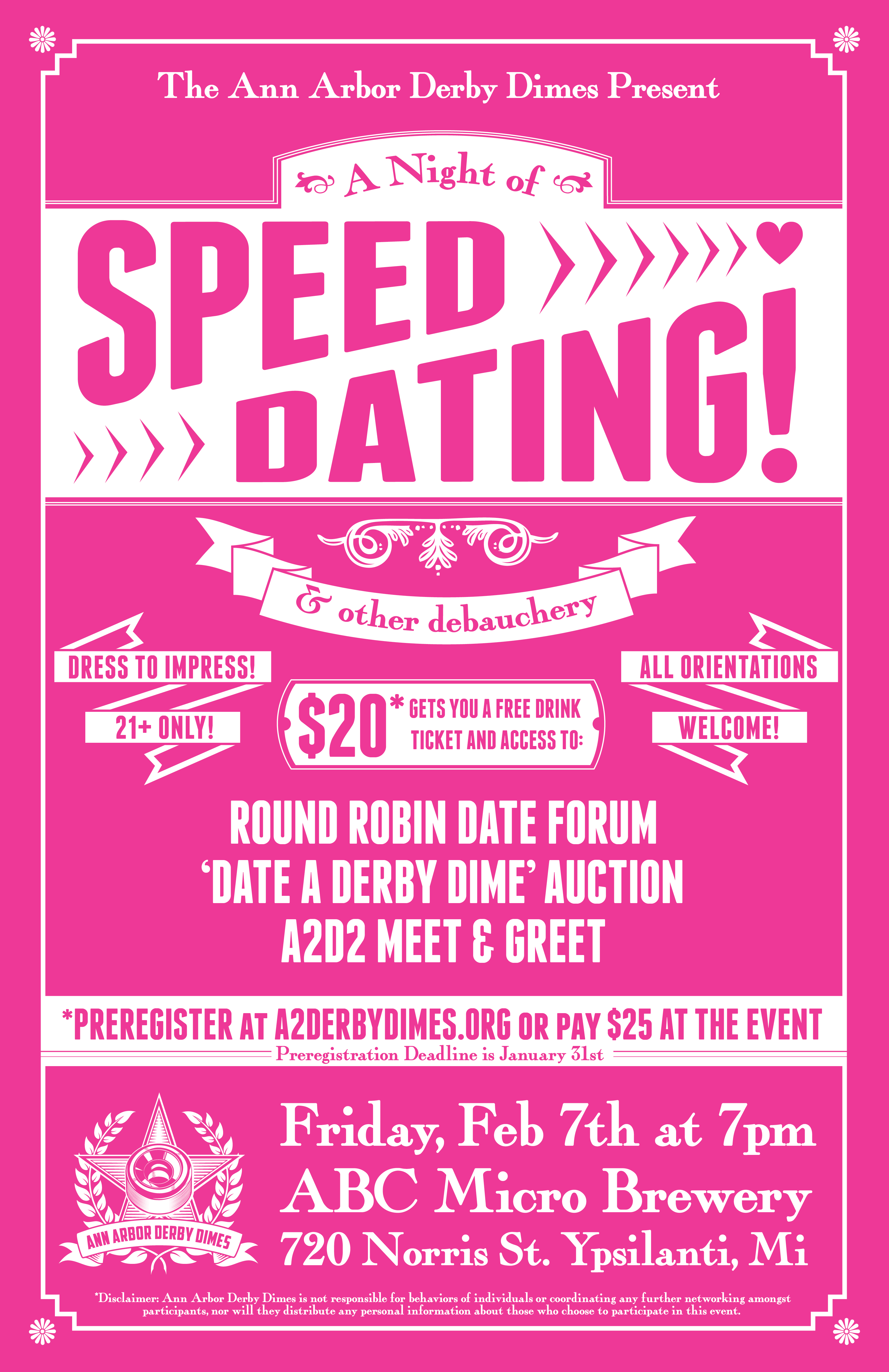 speed date todays date