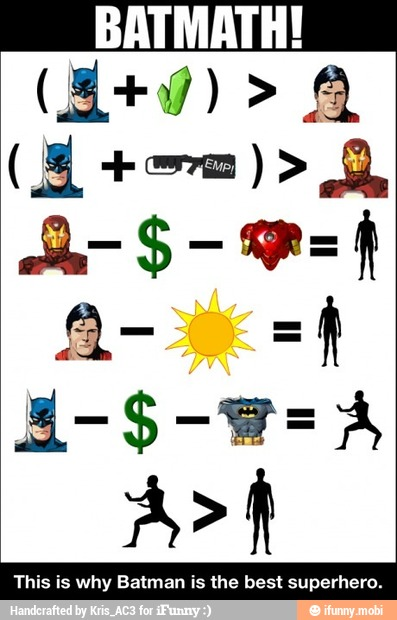 Why Spiderman is better than Batman