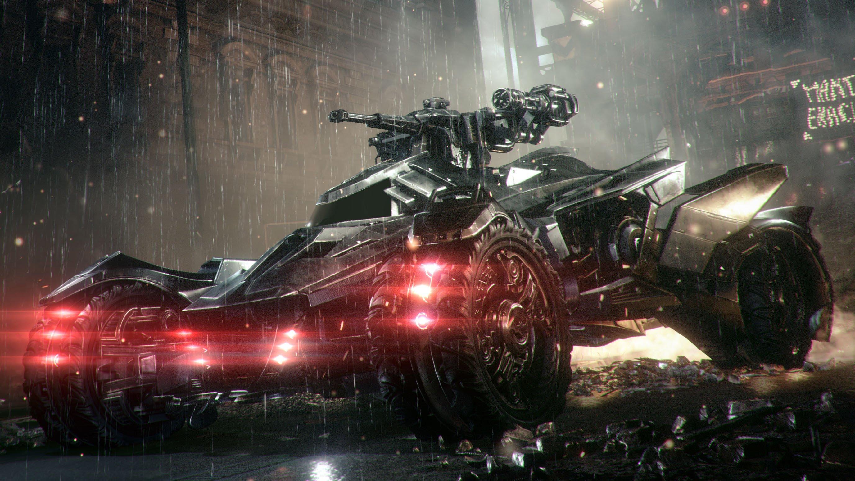 BATMAN: ARKHAM KNIGHT — Batmobile's Pursuit and Battle ...