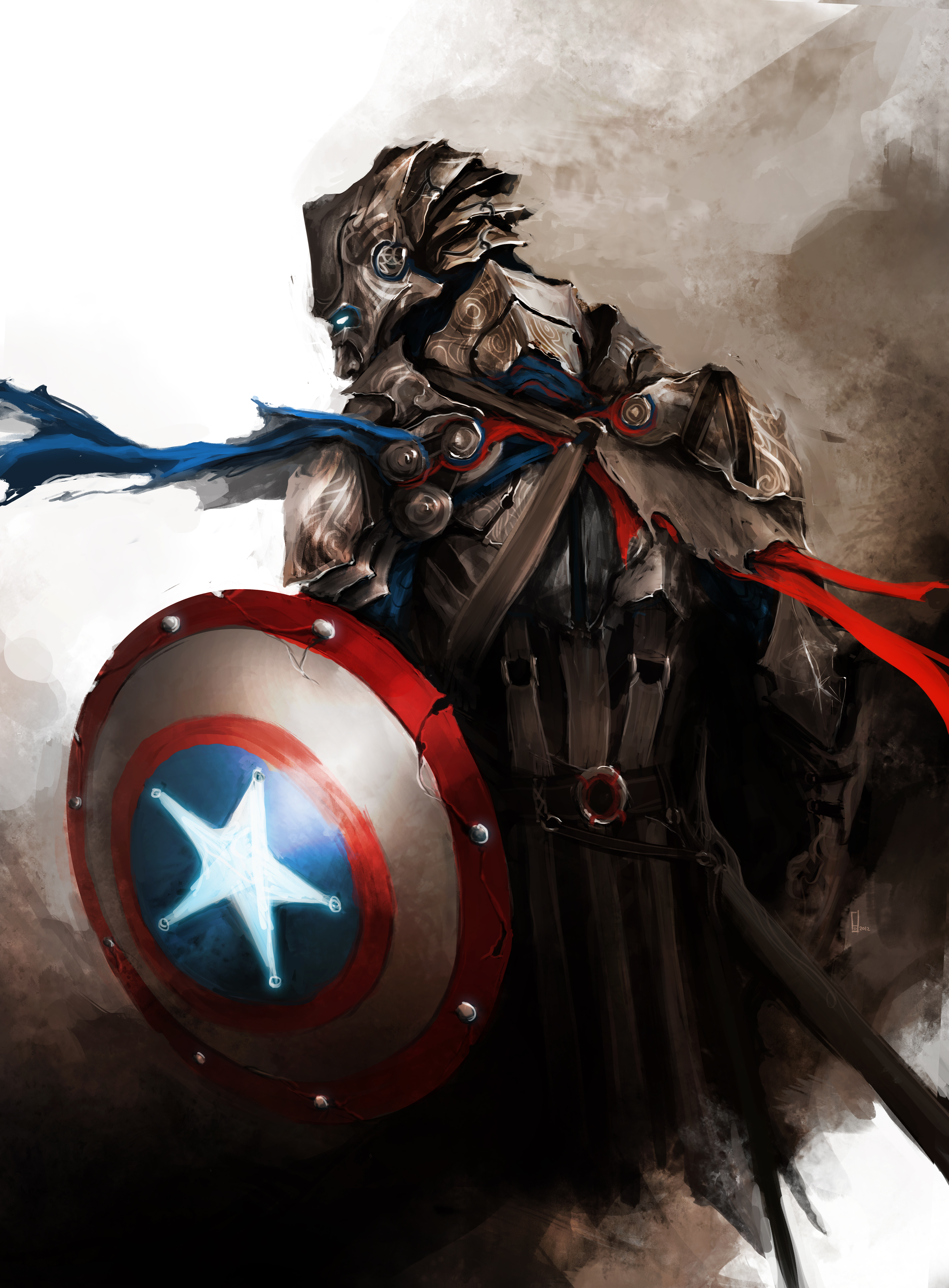 the avengers as medieval fantasy warriors geektyrant