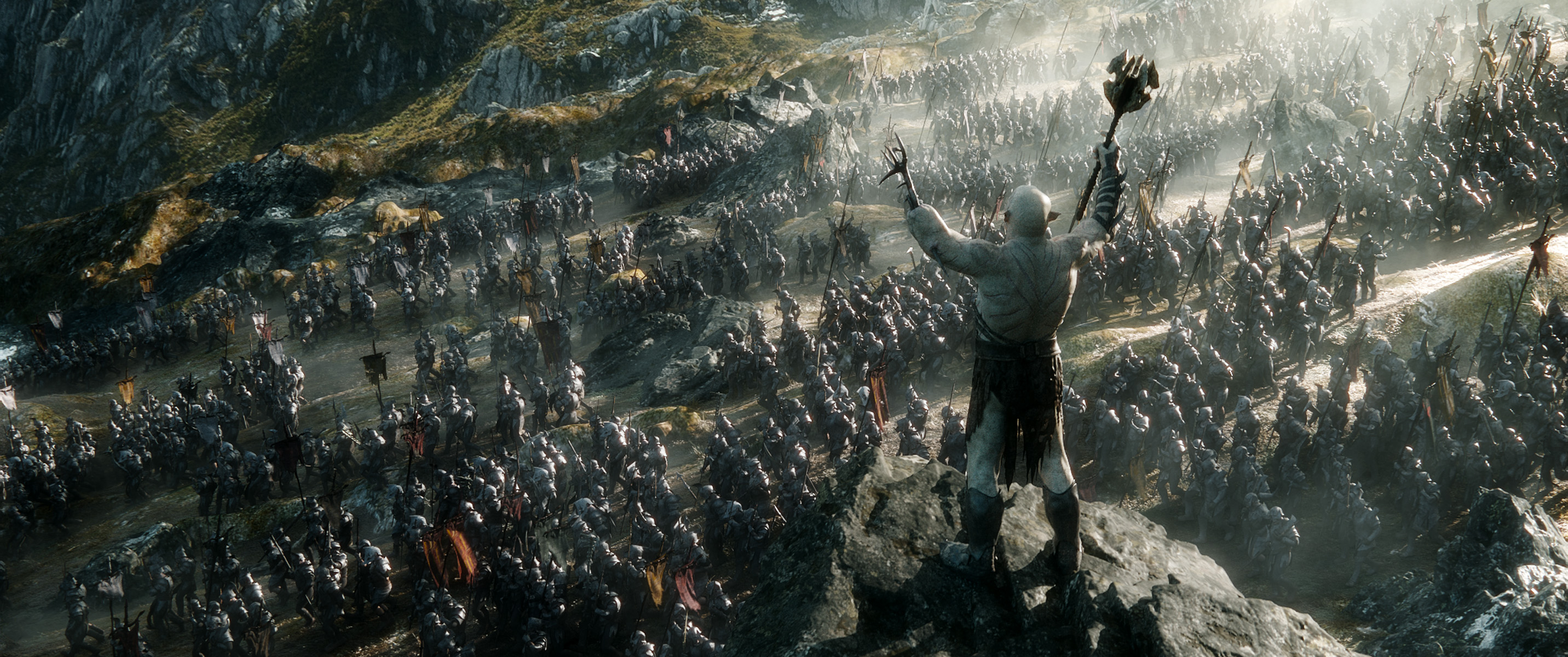 THE HOBBIT: THE BATTLE OF THE FIVE ARMIES - 4k Trailer and