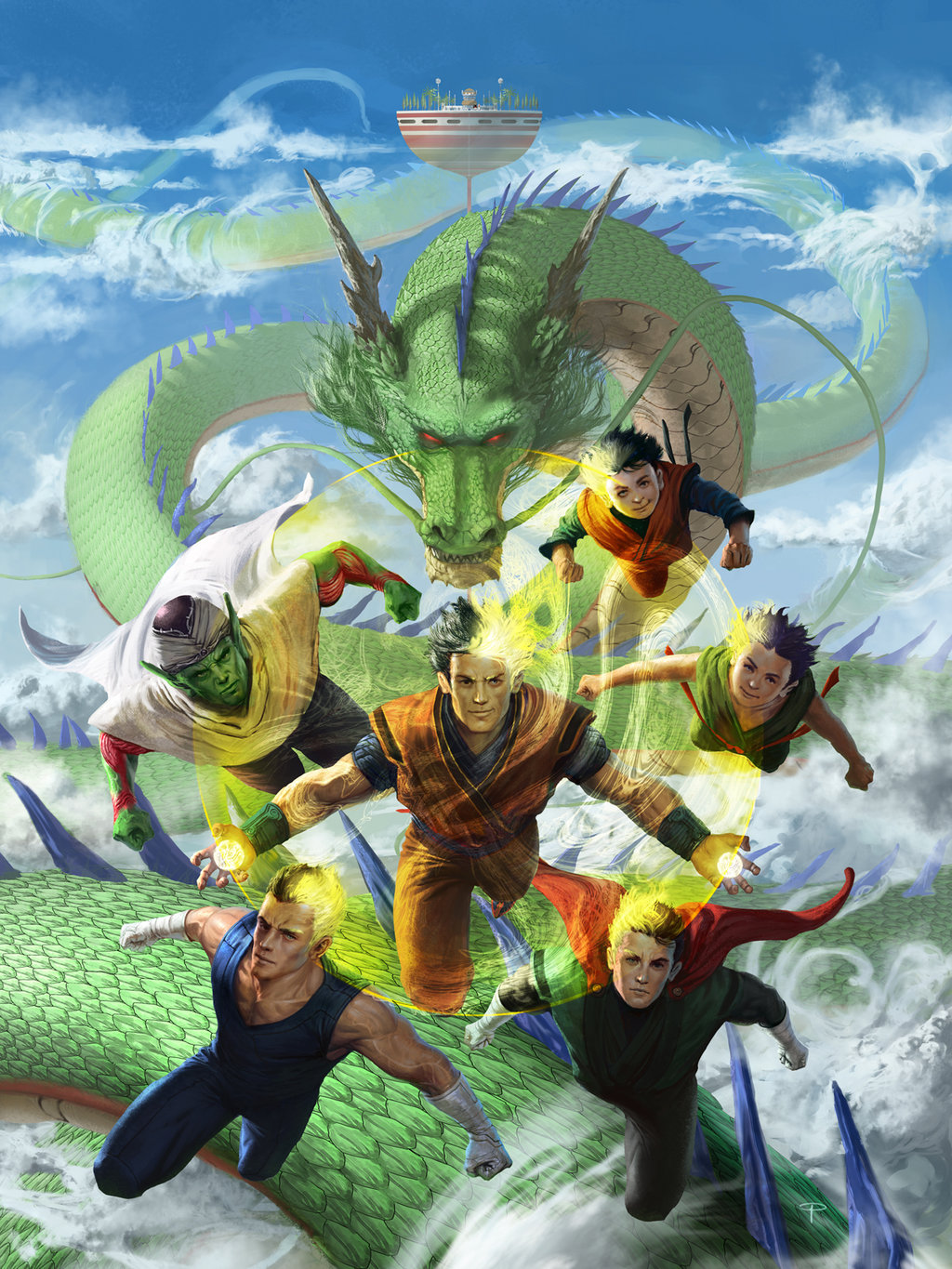 Dragons Movie Characters Dragon Ball z Characters