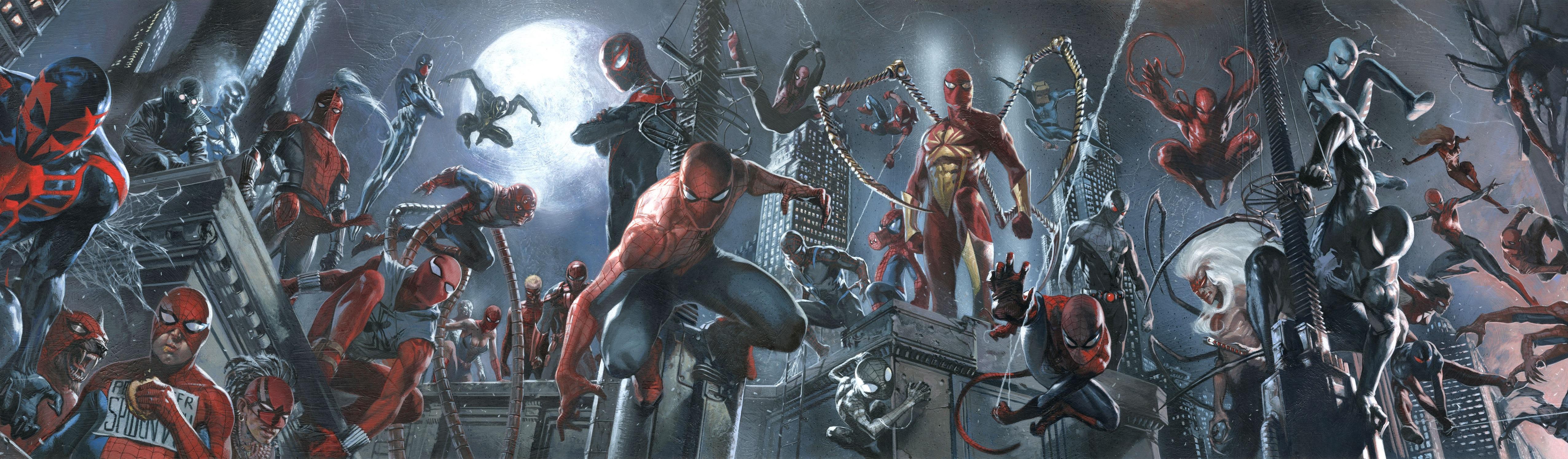 Spider-Verse: Learn About All 38 Spider-Men, Women, Animal
