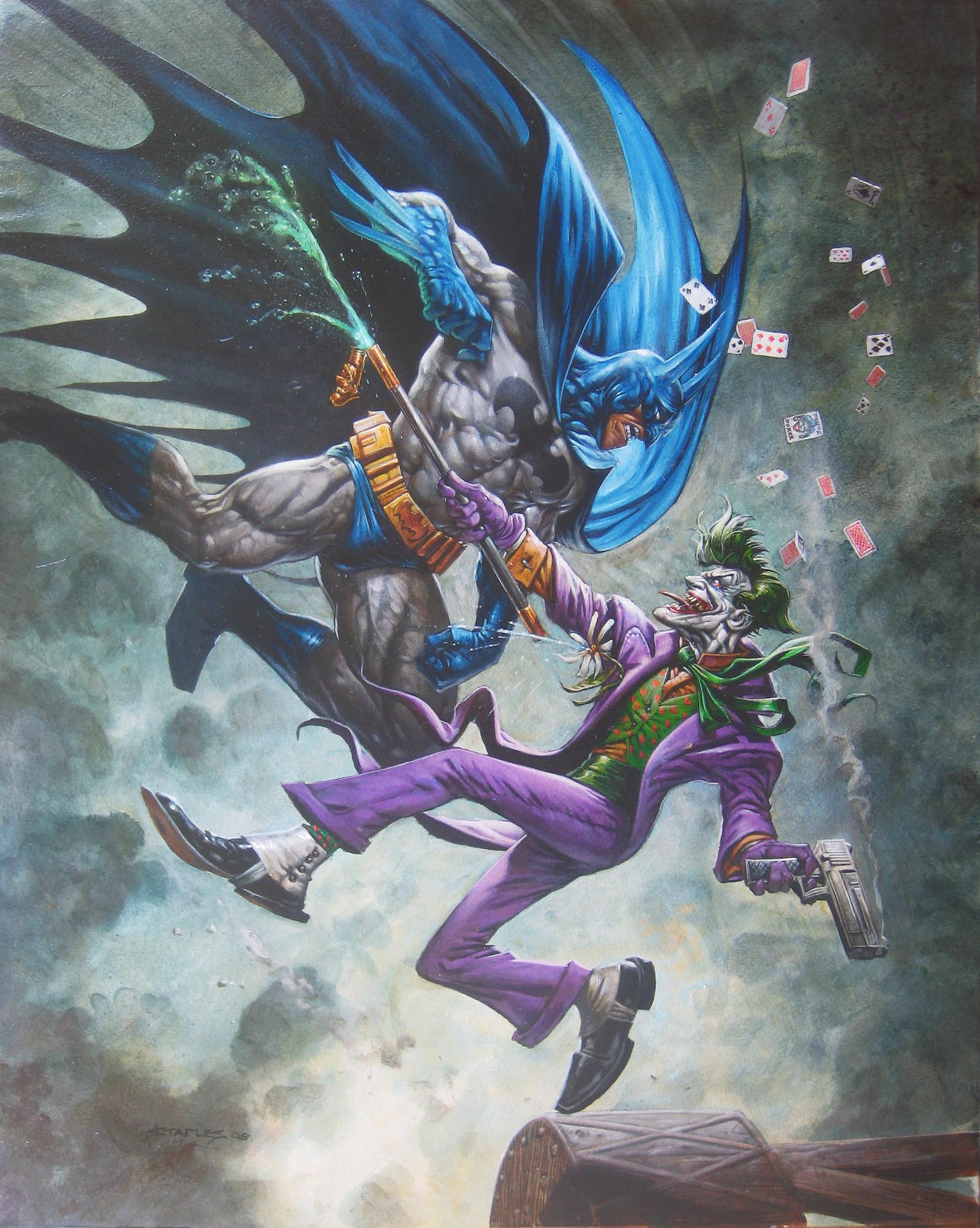 BATMAN Art by Greg Staples — GeekTyrant