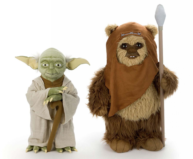 Star Wars Life Size Yoda And Wicket Plush Dolls Geektyrant