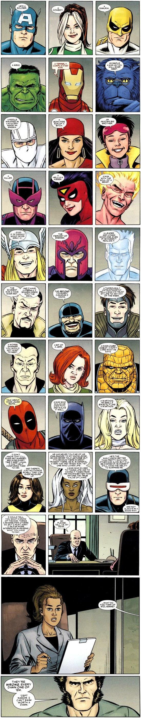 Photo Collection Wolverine Marvel Superheroes Comics