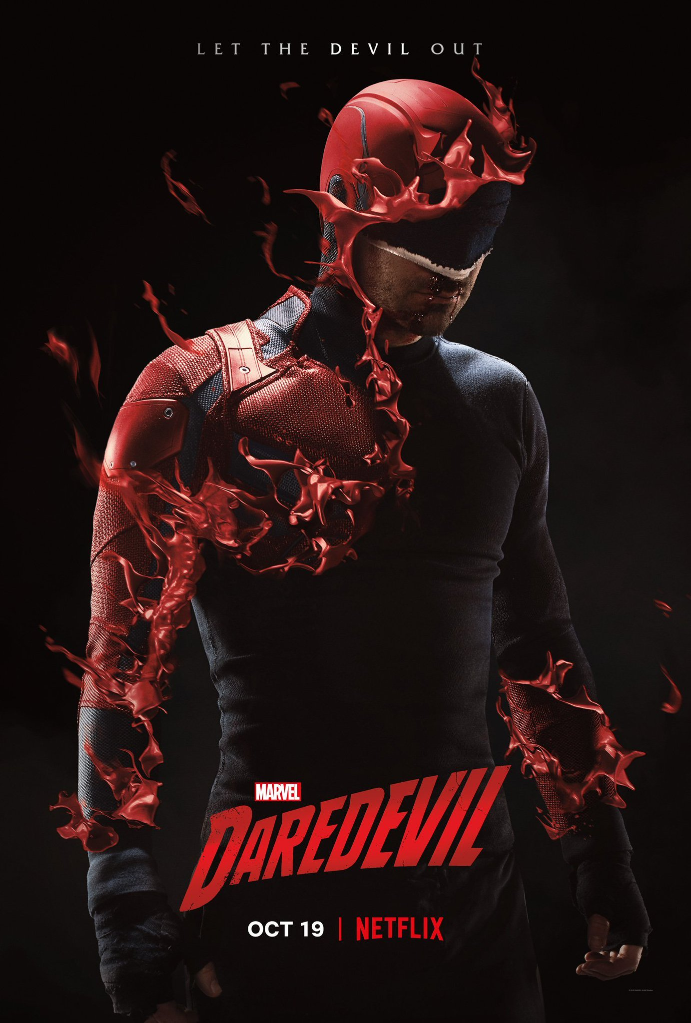 Image result for daredevil season 3 poster let the devil out