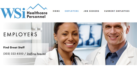 WSi Healthcare Personnel Banner