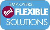 WSi Employer Flexible Solutions Button