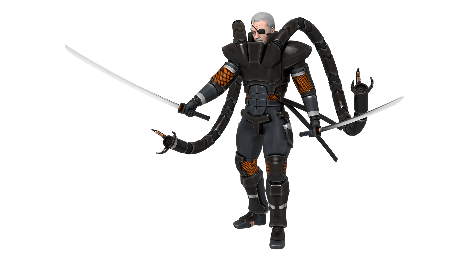 Solidus Snake Image Breakdown — aVersion of Reality