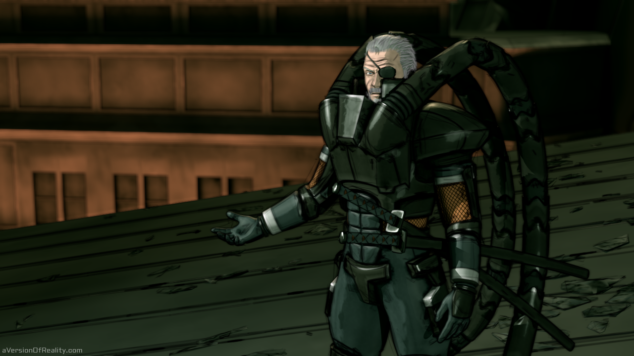Solidus Snake At Federal Hall Comic Aversion Of Reality