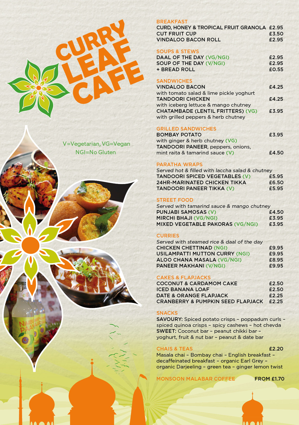 Curry Leaf Cafe Brighton Station Takeaway Indian Street Food