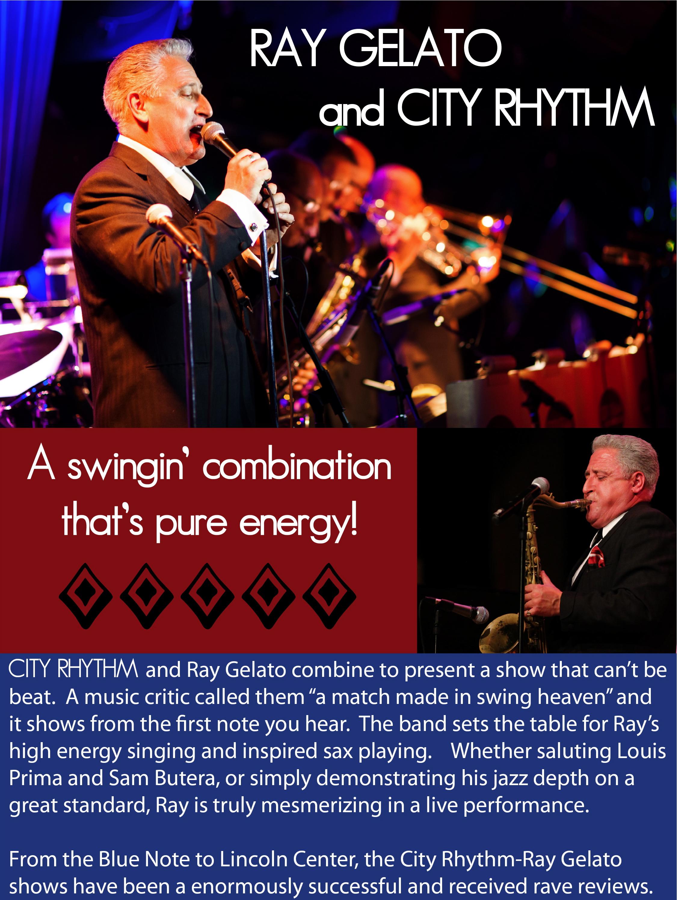 Ray Gelato — City Rhythm