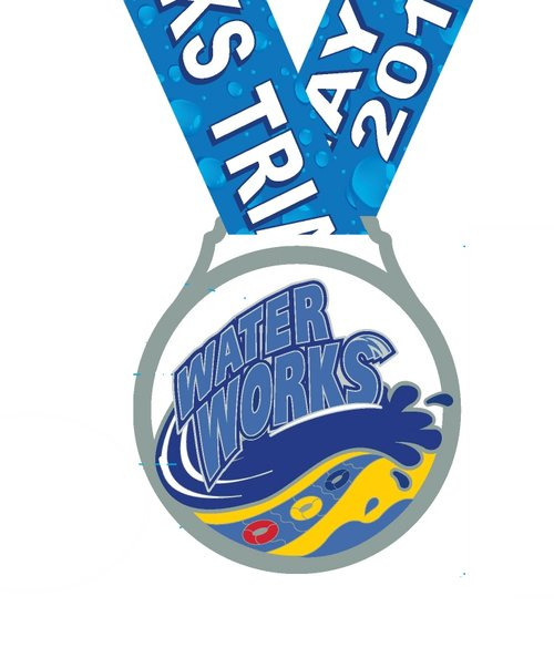 Water Works Tri Medal