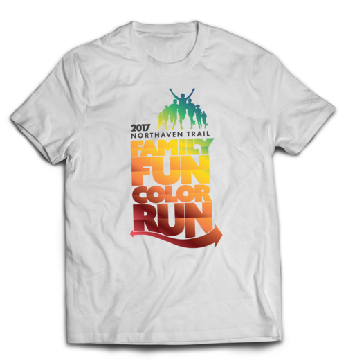 Northaven Trail Color Run Shirt