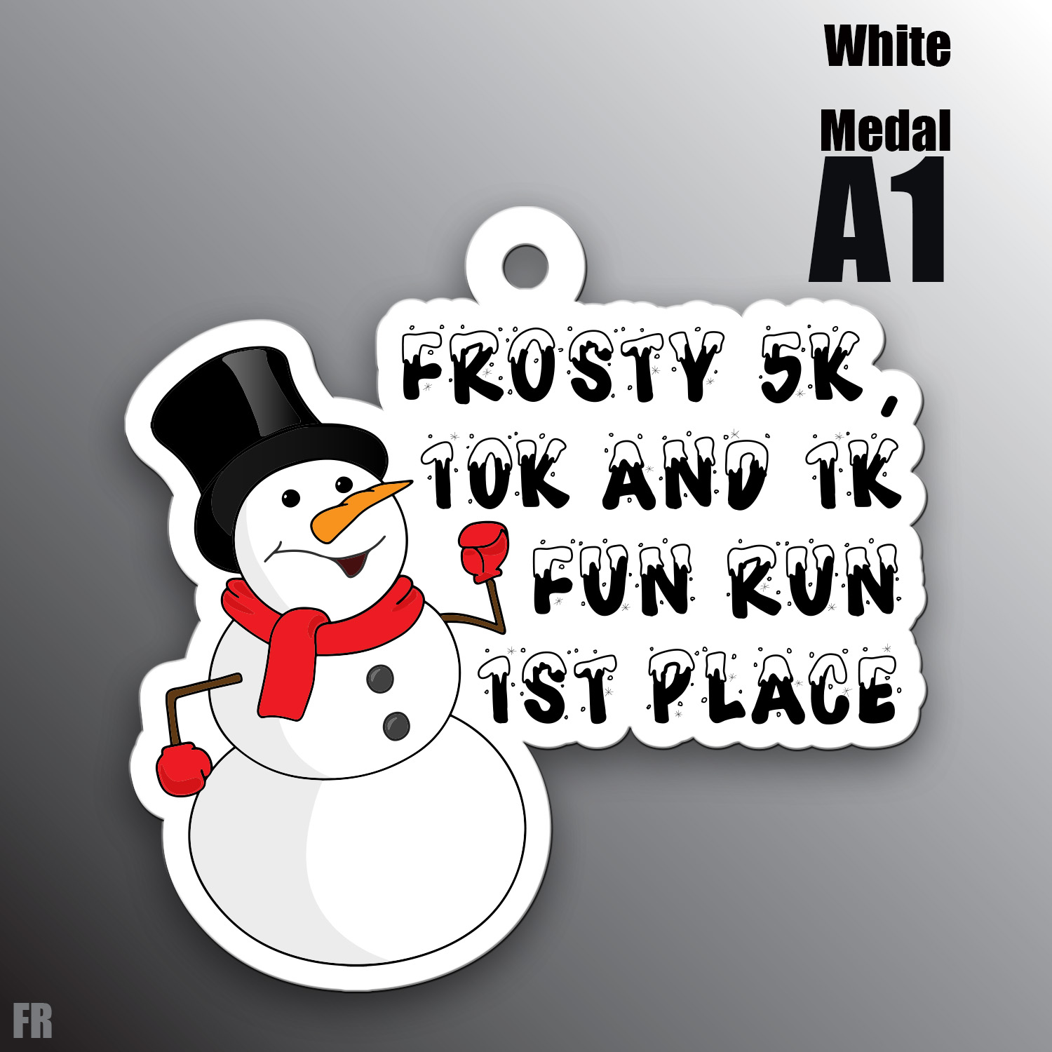 Frosty Award Medal