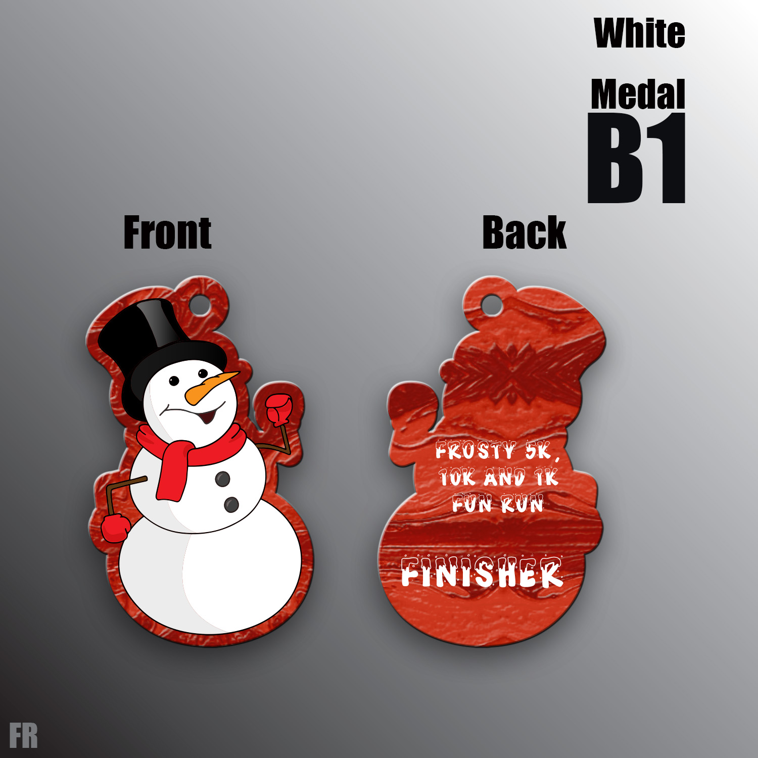 Frosty Finisher Medal
