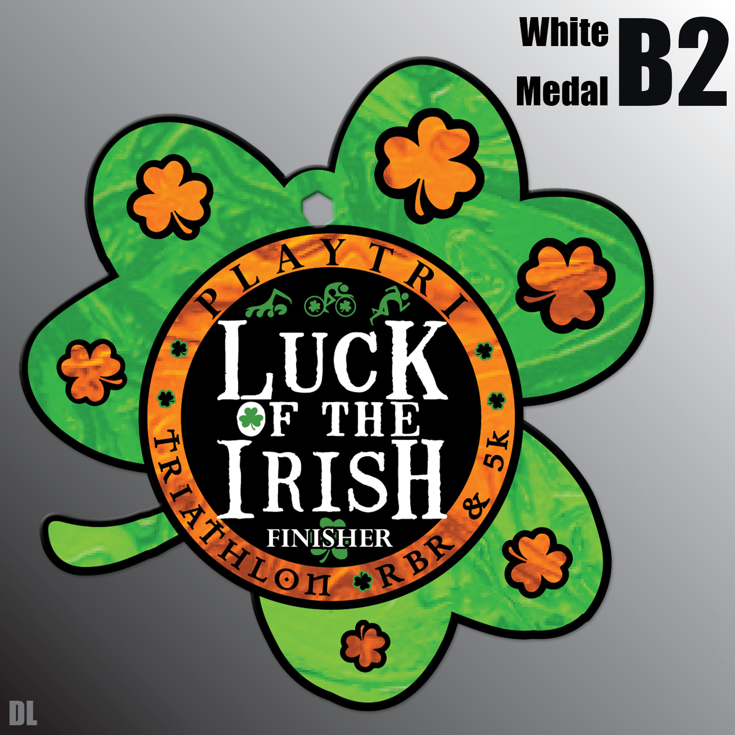 Luck of the Irish Medal