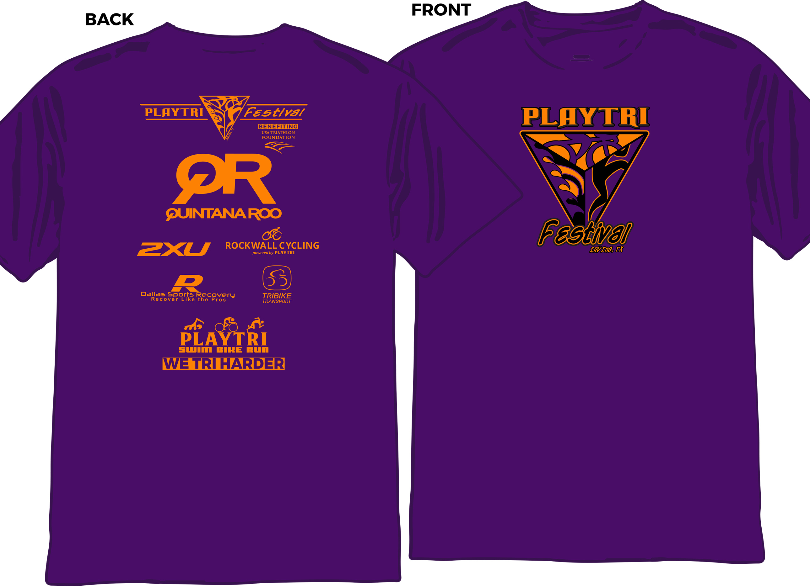 Playtri Festival Shirt