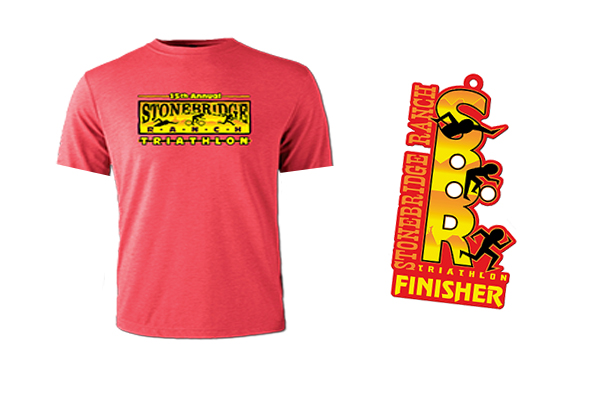 Tech Race Shirt and Finisher Medal