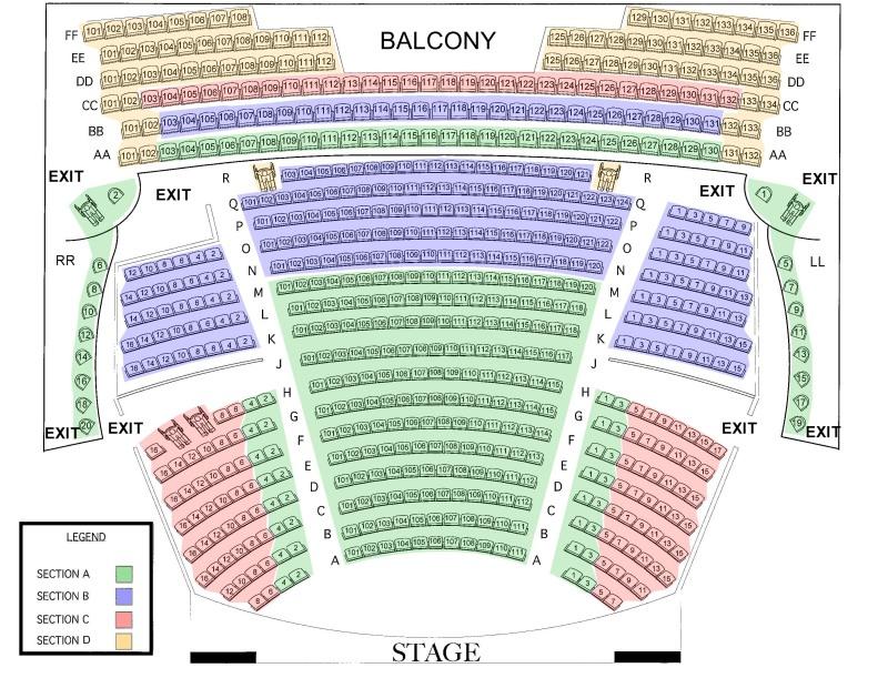 Riverside theater seating chart vero beach riverside theatre